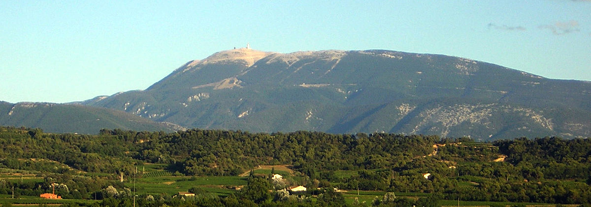 Mount Ventoux is a nice place to go on a hiking adventure.